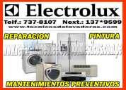 servicio tecnico en lavadoras electrolux 7378107 lima