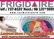 Servicio tecnico en lavadoras frigidaire 7378107 chorrillos