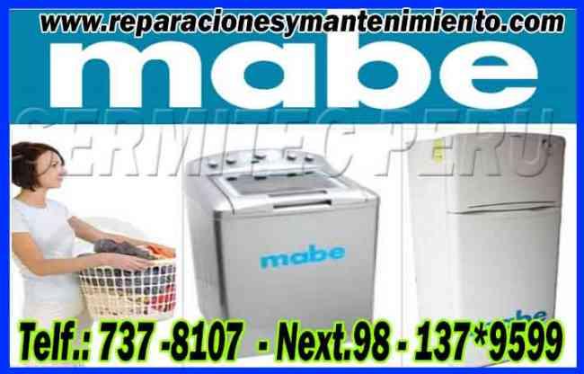 SERVICIO TÉCNICO A DOMICILIO EN LAVADORAS MABE/ 7378107 BREÑA