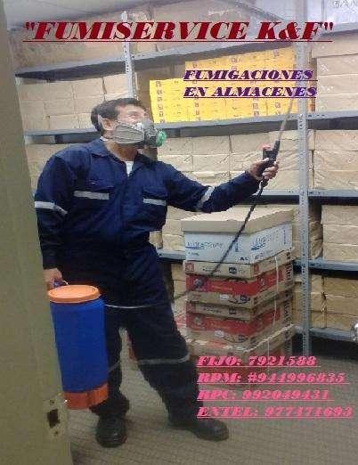 EXTERMINACION DE INSECTOS VOLADORES