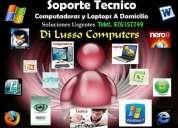 Reparaciones y soporte tecnico computadoras y laptops
