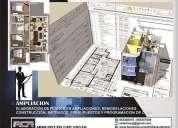 Arquitecto servicios de remodelaciones