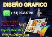 Oportunidad! diseñador grafico creativo freelance, lima