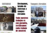 Oportunidad! lavado y desinfeccion de cisternas y tanques elevados
