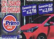 Oportunidad! conversiones gnv-glp /precios oferta, lima
