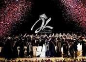Oportunidad! ceremonia de graduacion, lima