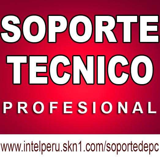 SERVICIO DE SOPORTE TECNICO A PC, LAPTOP.