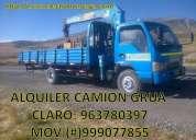 Oportunidad! servicio de camion grua, lima