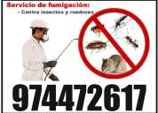 Ofrezco un buen servicio de fumigacion, dile adios a los bichos. llamame 974472617 - trujillo