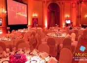 Alquiler de equipos audiovisuales para eventos – lima – marax