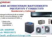 Aire acondicionado - mantenimiento -instalaciÓn