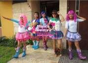 Show de equestria girls con magica aventura