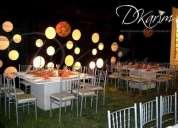 Oportunidad!. sillas vestidas y de metal,mesas cuadradas y redondas,bodas, lima