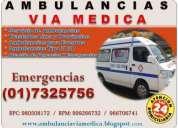 Traslados en ambulancias.