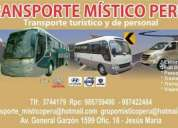 Brindamos servicio de transporte privado