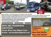Servicios bus, couster, van, sprinter.