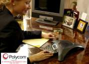 Venta y servicio - telefono de conferencia polycom - jj servicio eirl (distribuidor autorizado)