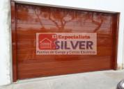 Sistema para puertas levadizas seccionales cercos electricos silver