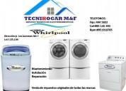 Técnico de lavadoras / secadoras whirlpool servicio técnico