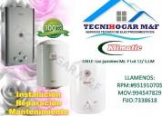 servicio técnico de termas klimatic a gas eléctrica en lima