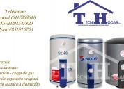 Servicio técnico de termas y termotanques (sole) (01) 7338618 en lima