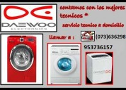 *servicio tecnico de lavadoras daewoo 953736157 lima*