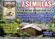 Harina de 7 semillas el autentico desayuno inka