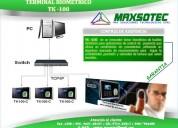 Maxsotec eirl/reloj control de asistencia /modelos tk-100 y h8/registro de huella/solicÍtelos /lima