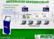 Maxsotec eirl / sistemas de gestion de colas con software/touch/digital/contÁctenos/lima