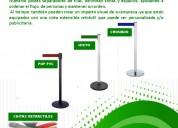 Maxsotec eirl / separadores de filas con cinta retrÁctil/varios colores de cinta/solicitelos/lima