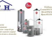 Termas rheem servicio técnico reparación a gas eléctricas 410-8759/733-8618