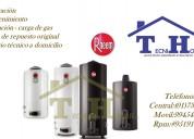 Servicio técnico y reparaciones de termas eléctricas/gas rhemm 7338618 mantenimiento 410-8759