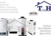 Reparaciones y servicio técnico determas a gas 4108759 calorex