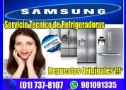 Tecnicos calificados samsung 7378107 servicio tecnico refrigeradores