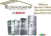 Servicio técnico reparación bosch refrigeradores  a domicilio 7338618