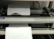 Se alquilan impresoras matriciales marca epson