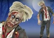 Maquillaje   zombie  halloween   telefono  fijo  :   7816995  cel  :  999023200
