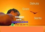 Tantricos masajes relajantes
