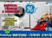 Garantizado! técnicos a1 secadoras general electric 998722262
