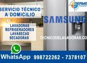 Refrigeradoras samsung«2761763»reparacion -pintura  chorrillos»