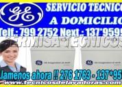 ::servicio tecnico general electric 7378107 en centro de lavado::miraflores