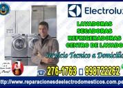 A domicilio asistencia técnica de lavadoras electrolux 998722262