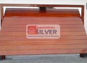 Fabricación de puertas levadizas seccionales cercos eléctricos