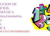 Clases particulares de matematica chorrillos/barranco/miraflores/sjm