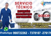 (al mejor precio) reparaciones de lavadoras (bosch) en chorrillos-2761763