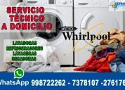 Soporte técnico de lavadoras whirlpool en magdalena*7378107*