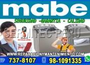 A toda hora«981091335»reparación de lavadoras mabe en ate