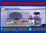 Reparación a todas las marcas de aire acondicionado, tel: 7590161 en lima