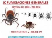 Fumigaciones de insectos damos certif  7968942