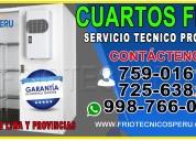 7256381//mantenimiento tecnico a cuartos de frio